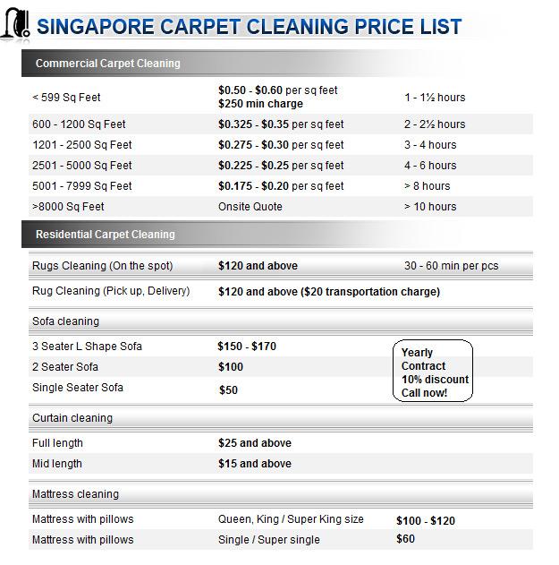 Services Singapore Carpet Ceaning
